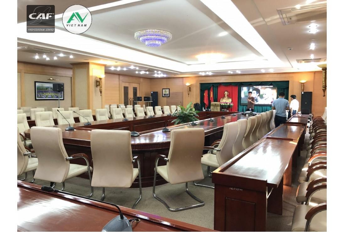 Âm thanh hội trường ngân hàng AGRIBANK TP Nam Định - Đồng Bộ CAF Audio