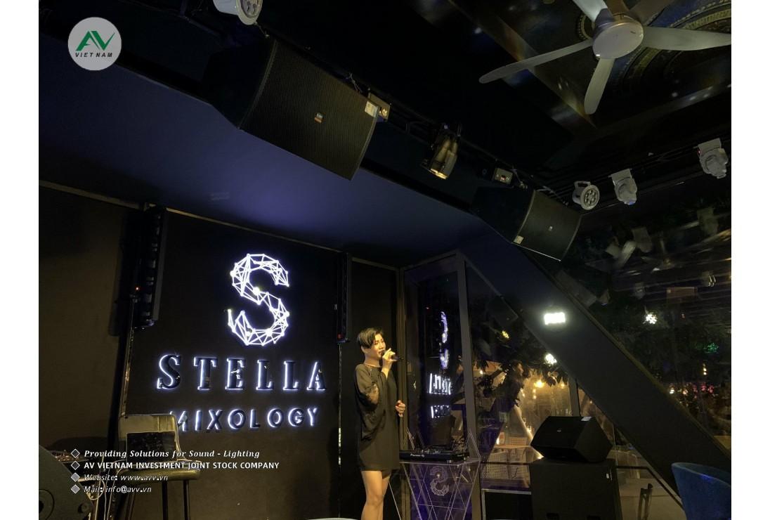 STELLA MIXOLOGY - Đồng bộ âm thanh CAF AUDIO - ánh sáng AVLighting do AV Việt Nam cung cấp.