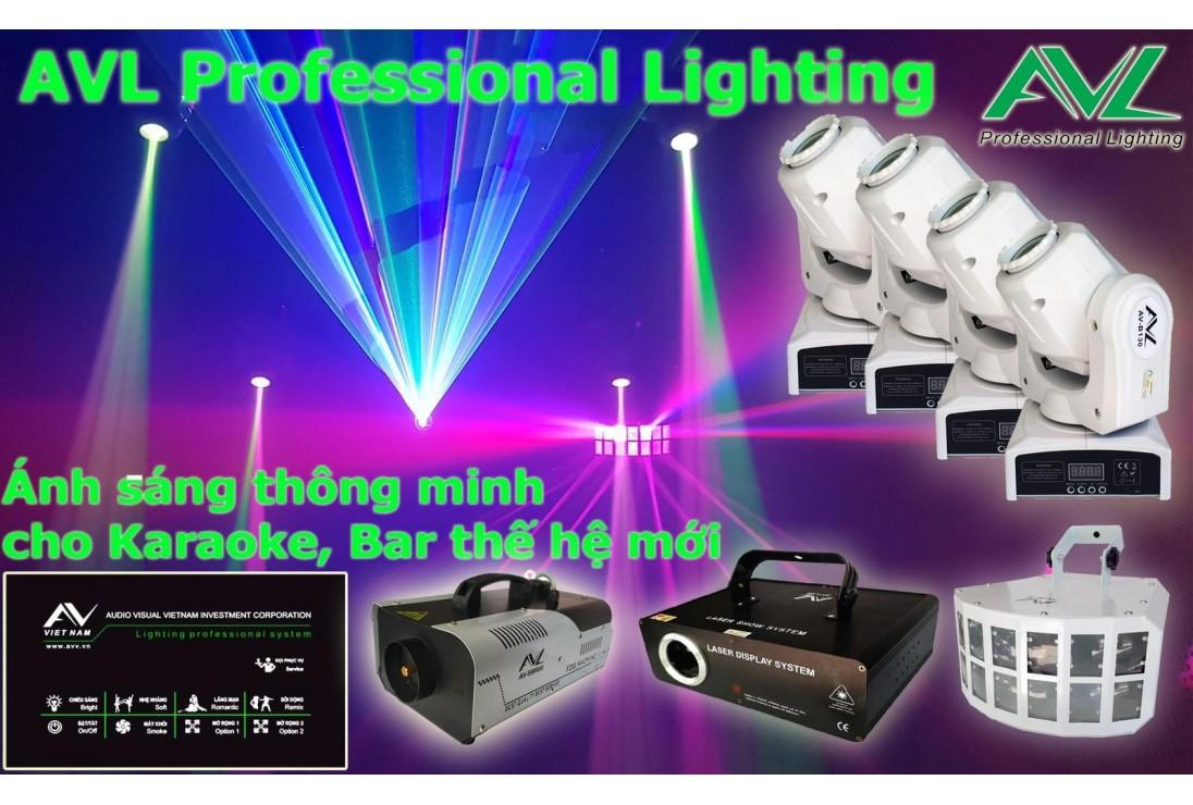 Lắp đặt hệ thống ánh sáng - Pháo CAFE - HÀ NỘI
