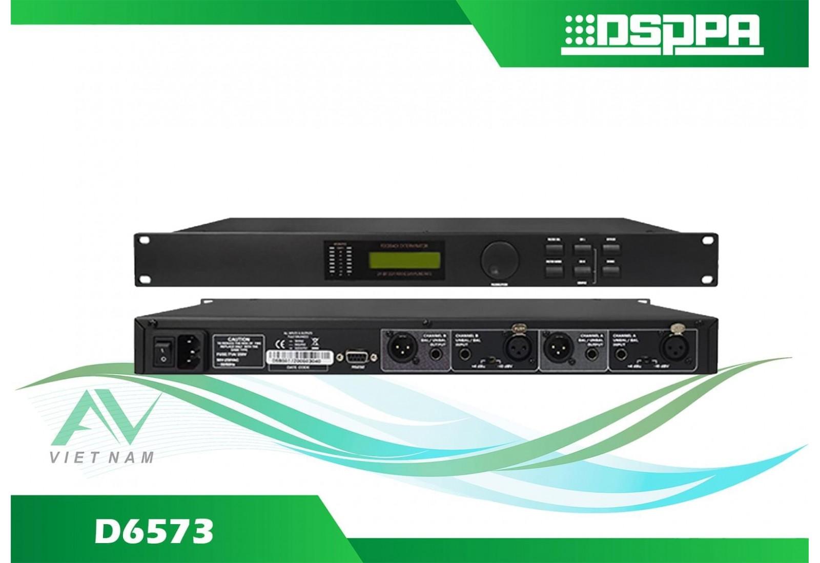 DSPPA D6573 - Bộ triệt phản hồi âm