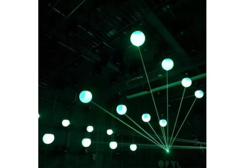 Kinetic Laser Ball