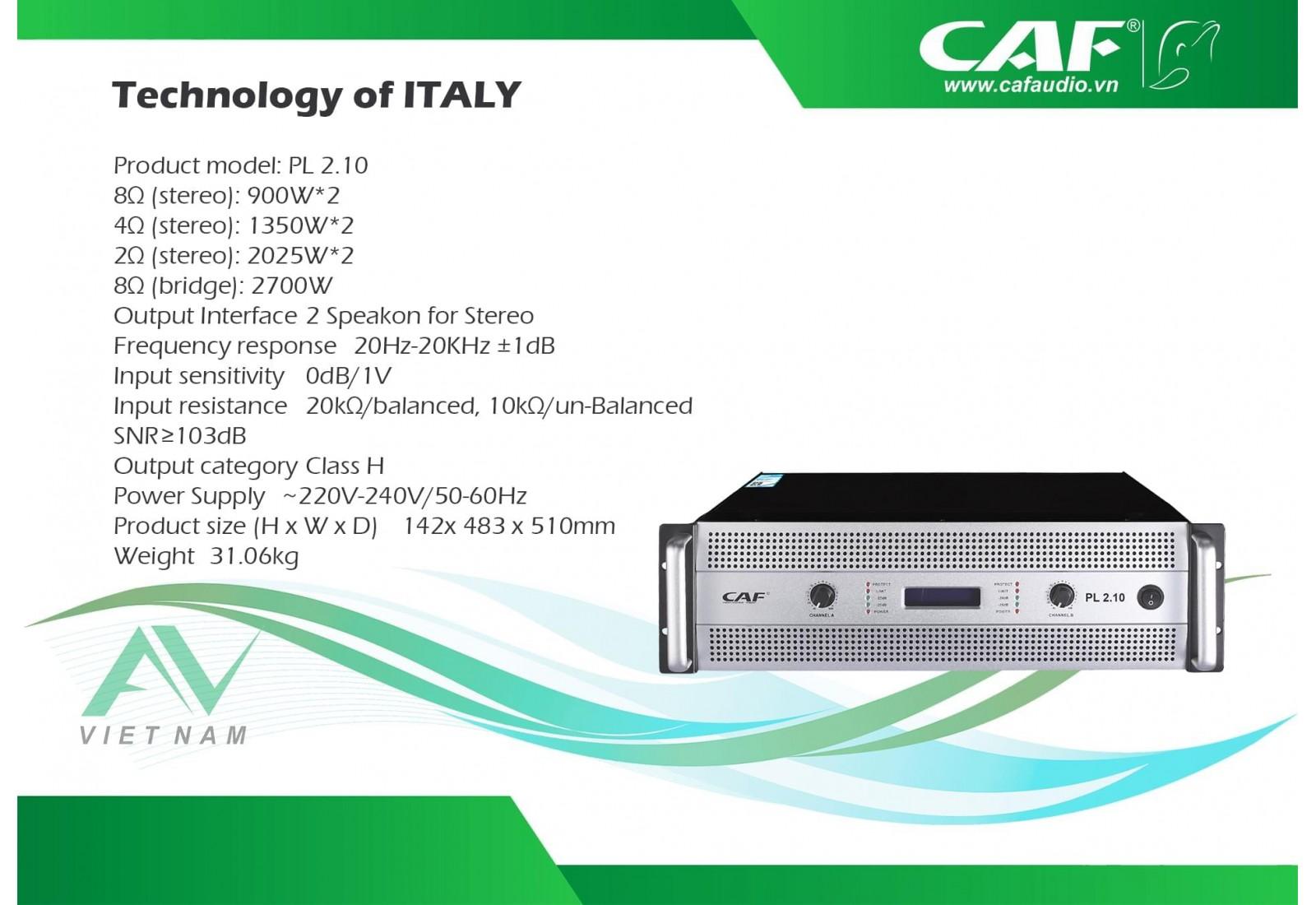 CAF PL 2.10