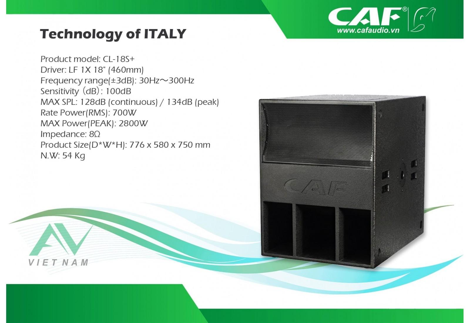 CAF CL-18S+