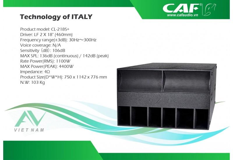 CAF CL-218S+