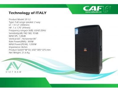 Loa CAF SP-12