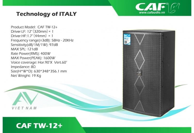 CAF TW 12+ (PLUS)