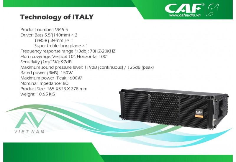CAF VR 5.5
