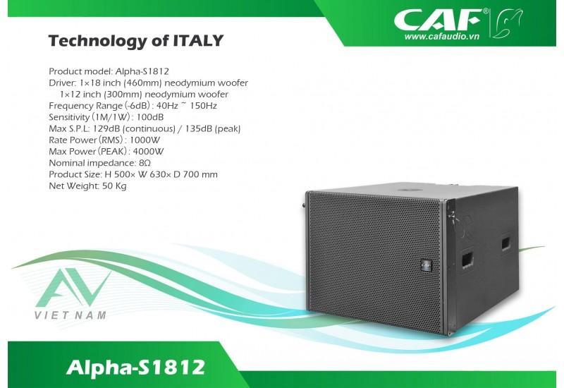 CAF Alpha-F8