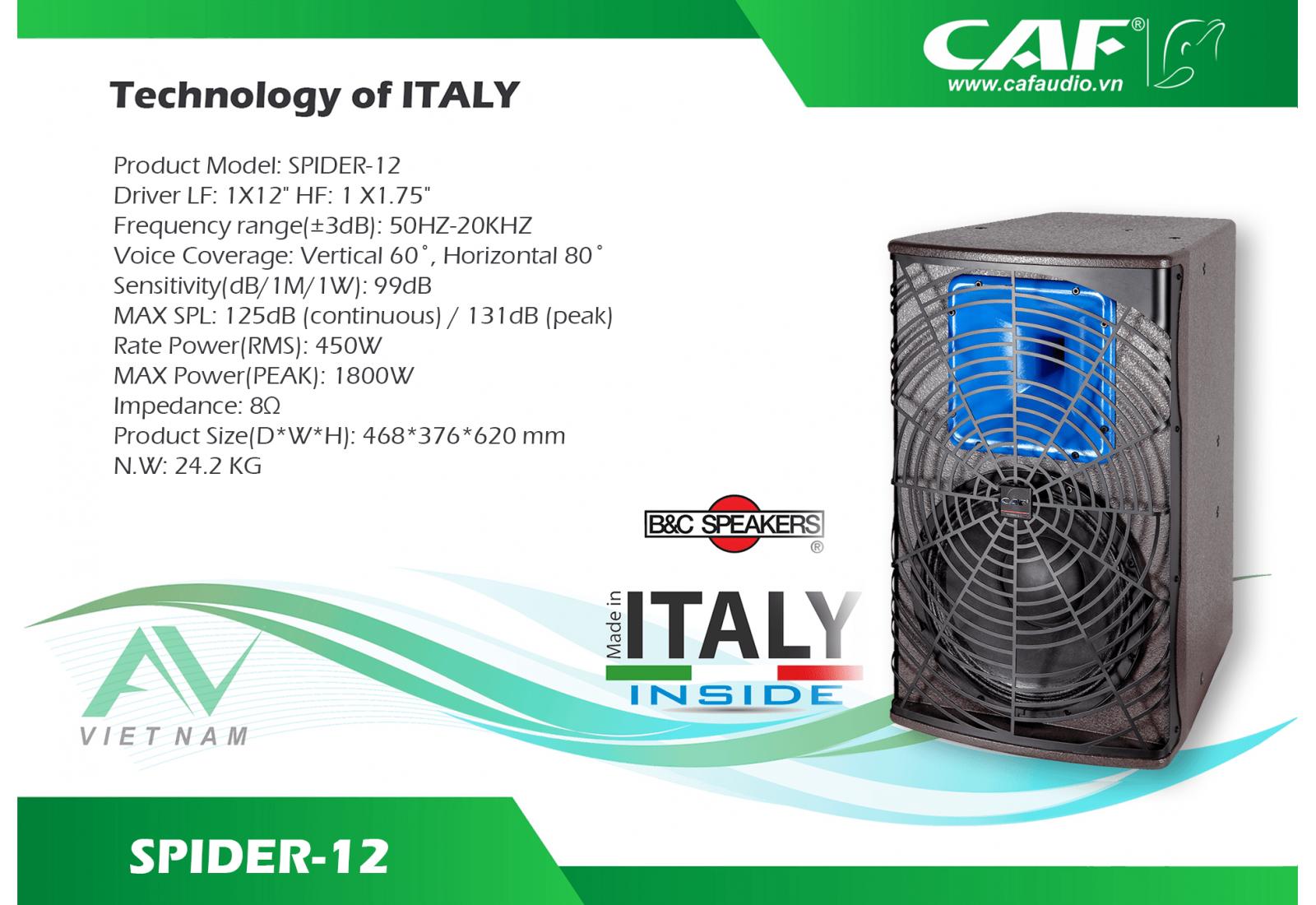 CAF SPIDER-12
