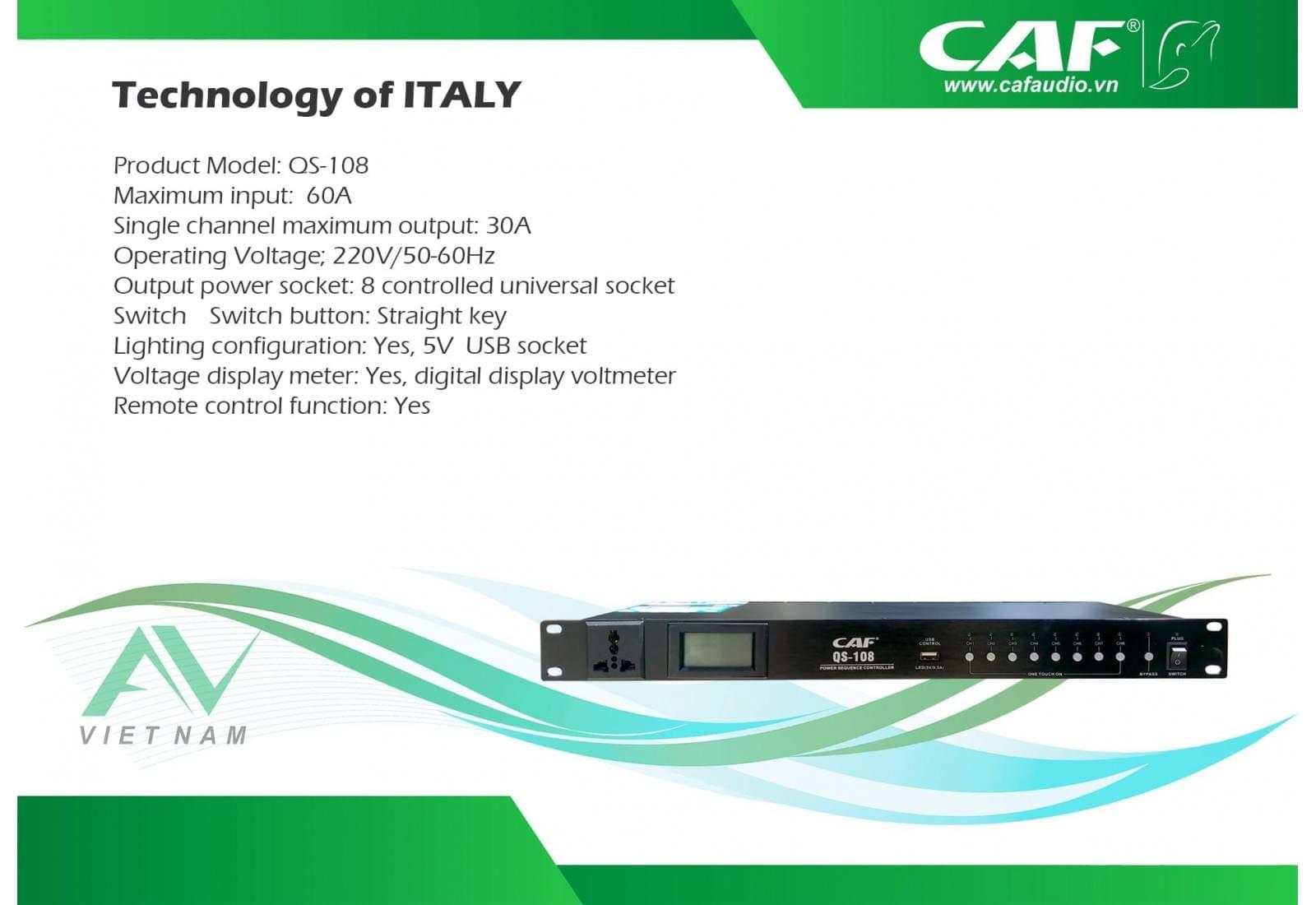 CAF QS-108