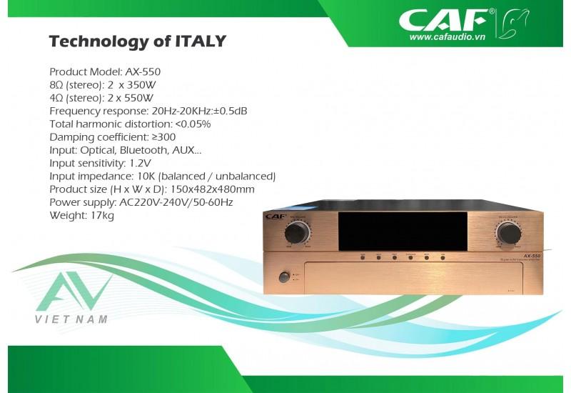 CAF AX-550