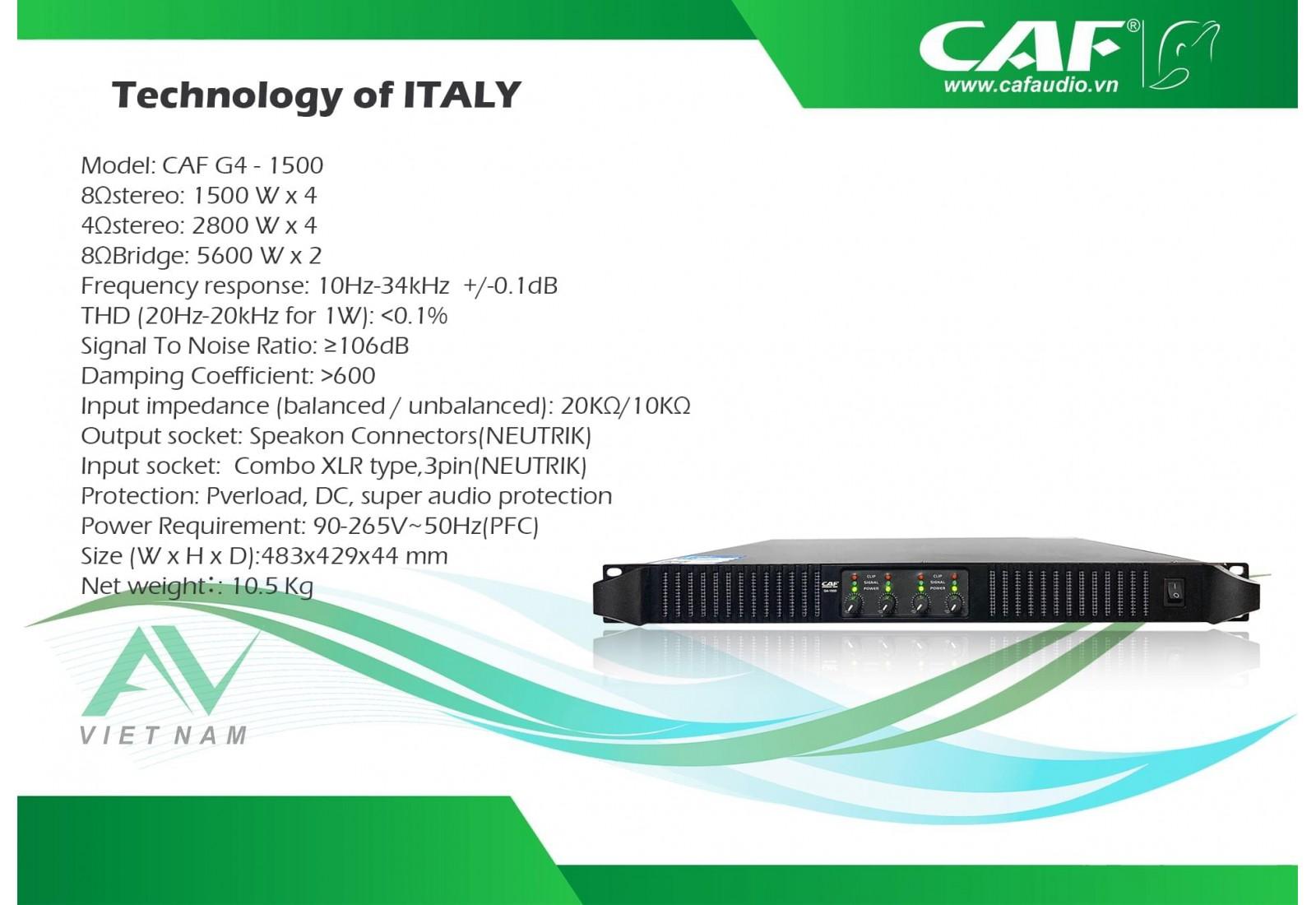 CAF G4-1500