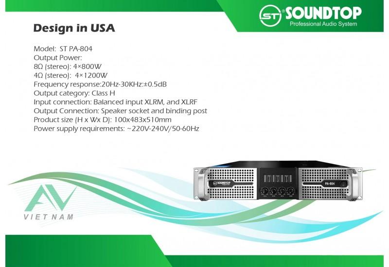 SOUNDTOP PA-804