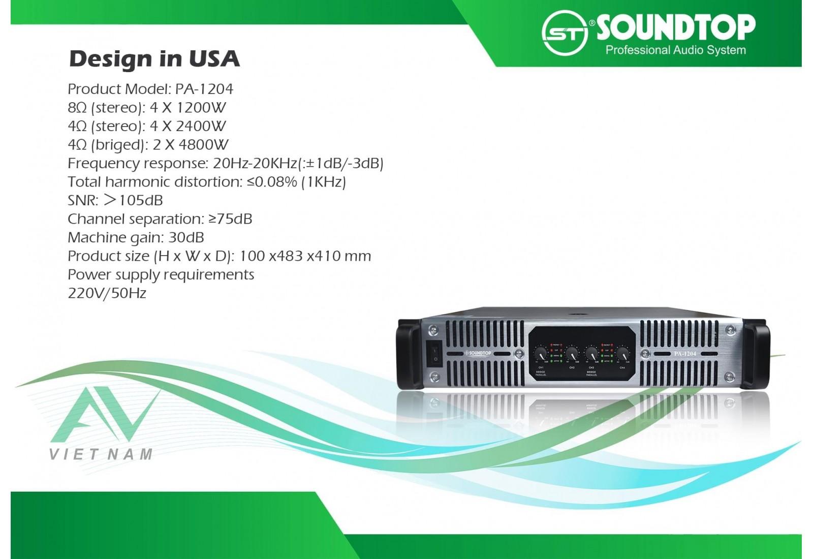 SOUNDTOP PA-1204