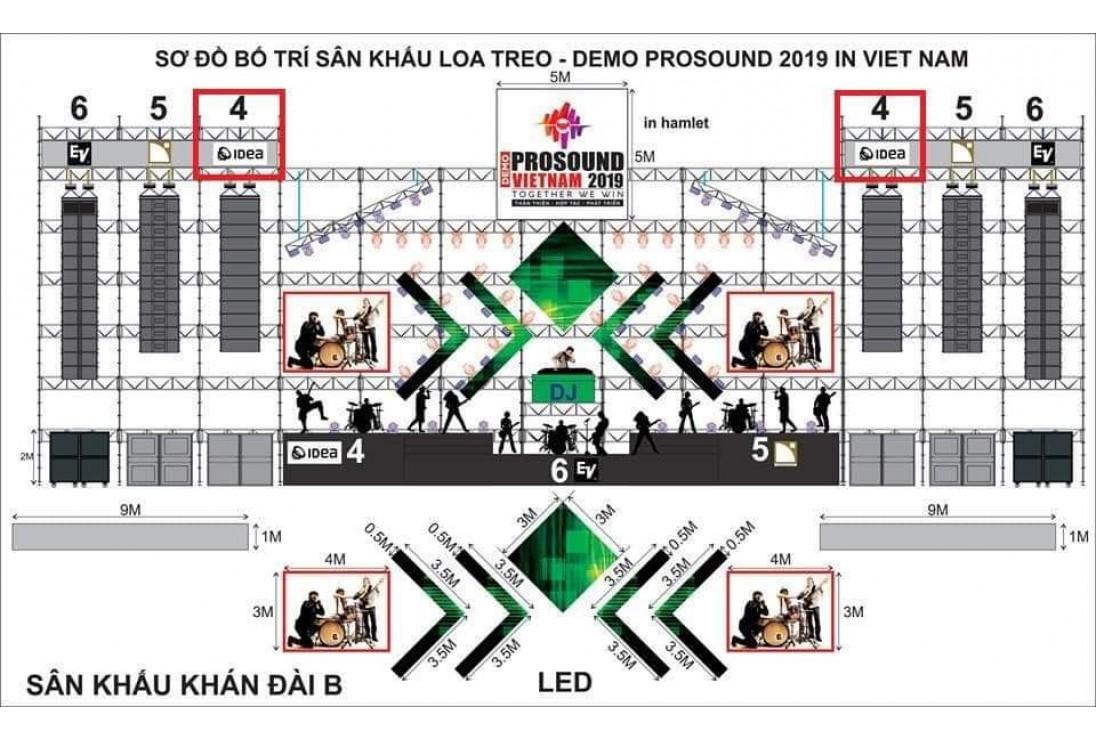 Demo Prosound Vietnam 2019 - Lễ hội âm thanh, ánh sáng lớn nhất Việt Nam 2019